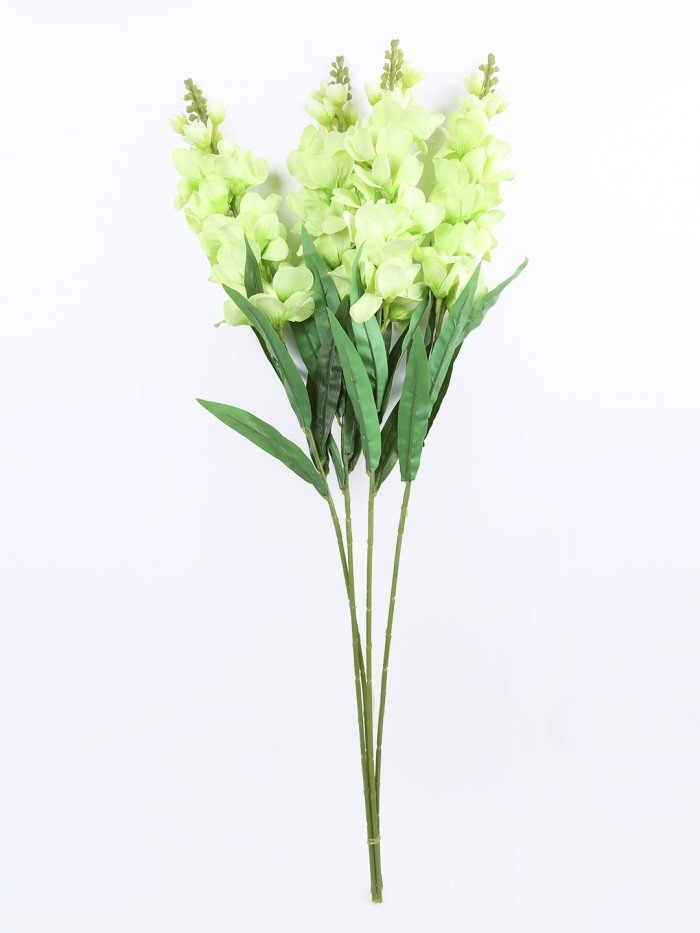 Buy Artificial Gorgeous Jasmine Flower Sticks (90 Cm Tall, Green, Set Of 4) Online