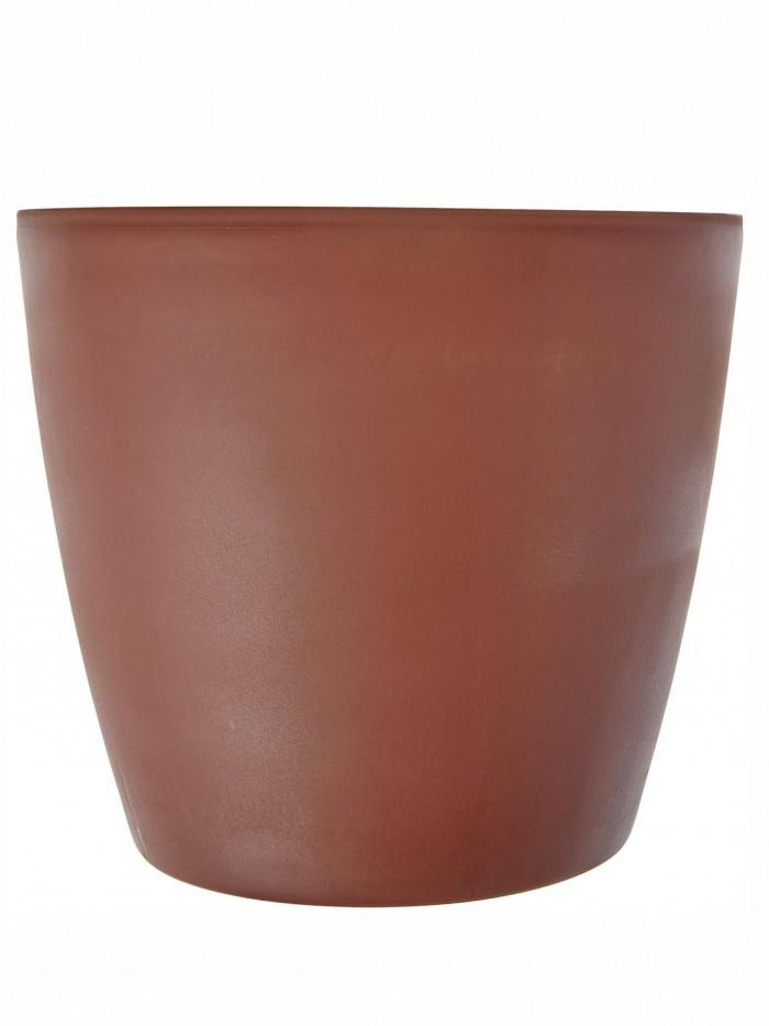 Buy Fourwalls PVC Planter (28 Cm, Brown) Online