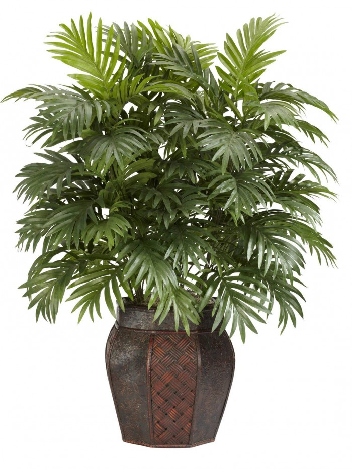 Buy Artificial Areca Plants With 21 Leaves & Without Pot (75 Cm Total Height, Green, Set Of 2) Onlin