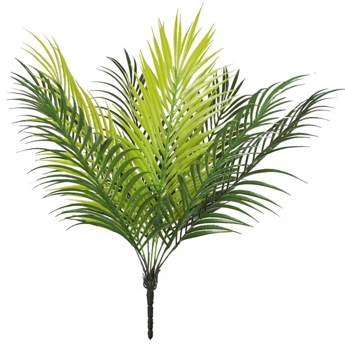 Buy Miniature PVC Artificial Plant (70 Cm, Green,18 Lvs /SET OF 1) Online