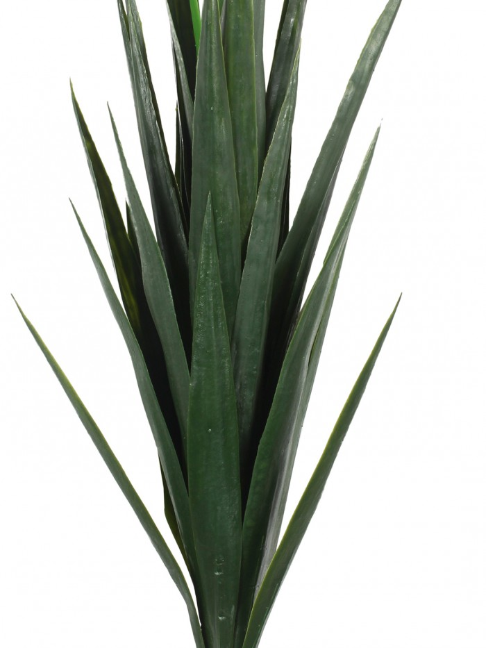 Buy Decorative Artificial Polyurethane Yucca Plant Without Pot (10 Cm X 10 Cm X 75 Cm, Green) Online