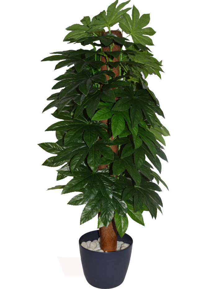Buy Beautiful Artificial PVC Silk Plant With Big Leaves And Without Pot For Home And Office D�cor