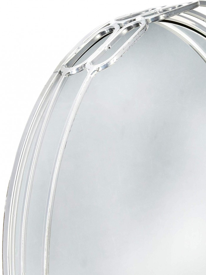 Buy Brooklyn Silver Mirrored Vanity Tray For Home Decor Online