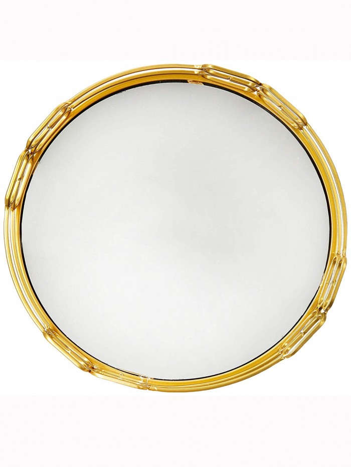 Buy Brooklyn Gold Mirrored Vanity Tray For Home Decor Online