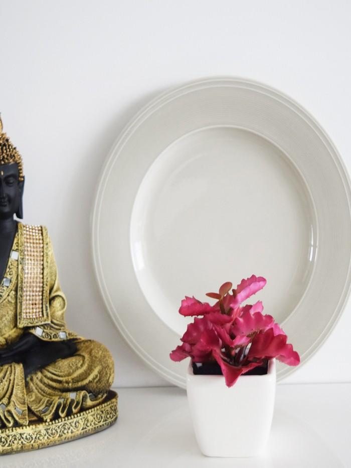 Buy Artificial Mini Succulent Plant In Ceramic Vase(multicolour-K) Online