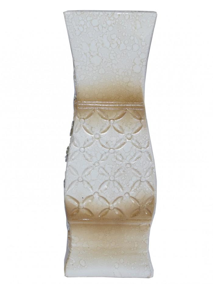 Buy Decorative Ceramic Flower Vase Flower Pots (32 Cm Tall, Multicolor) Online