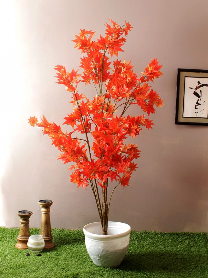Buy 215 Cm Tall Decorative Artificial Ficus Plant Without Pot Online