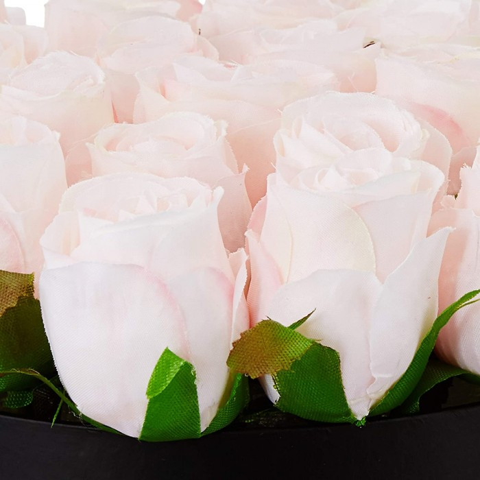Buy Fourwalls Artificial Rose Flowers In A Box For Valentines Day Gift (21 Flower In Box, 22 Cm Tall