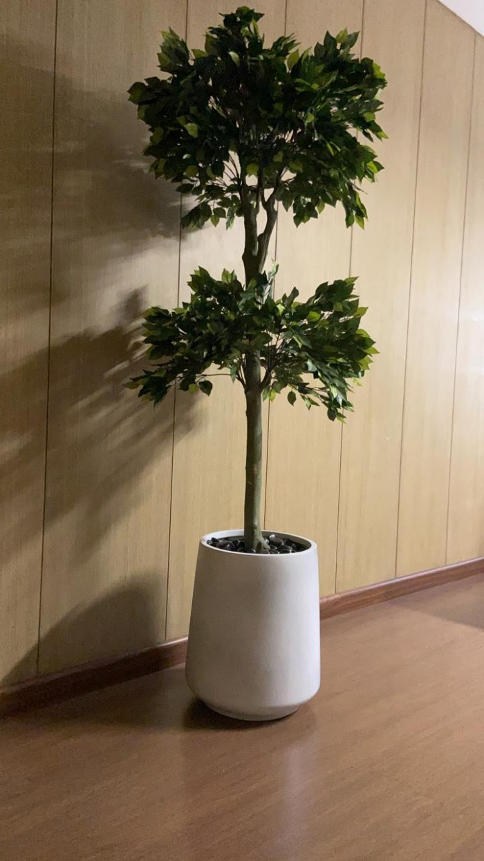 Buy Artificial Ficus Topiary Floor Plant Without Pot (155 cm) Online