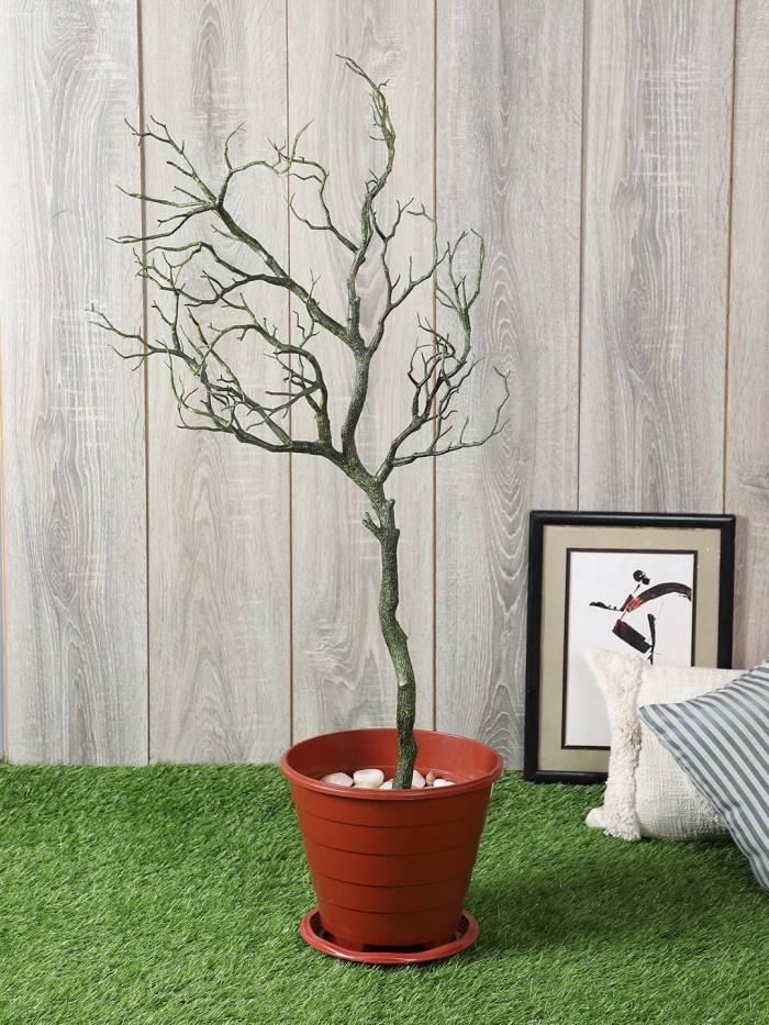Buy Fourwalls Artificial 90 Cm Tall Tree Branch Wood Fake Plant Plastic Branches Plant For Wedding P