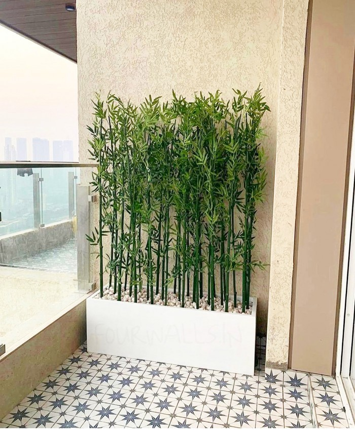 Buy Artificial Bamboo Plant Stems - 5.4 feet, Set of 8